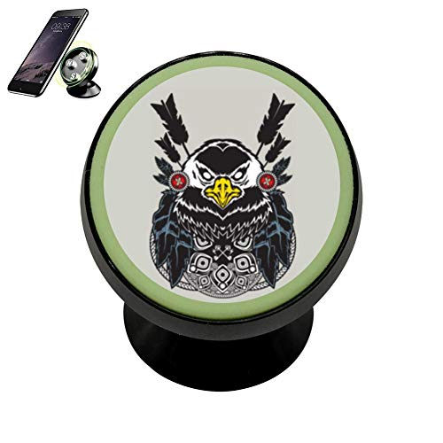 Meets The Eye (Eagle) Didi Car Magnetic Phone Holder Mobile Stand Car Seat Stand Universal Car Smartphone 360 Degree Rotating Bracket - Eagle Eye Universal Clip