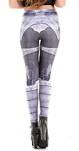 Jeggings Leggings Verano Treggings Modernas Pantalones De 4xl Moda Casual Medias Gray 2 Mujeres color Bleached Las Elásticos Playa Size xvqw1XRz