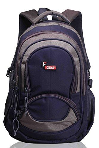 F Gear Storm Blue Grey 25 Litres Laptop Backpack