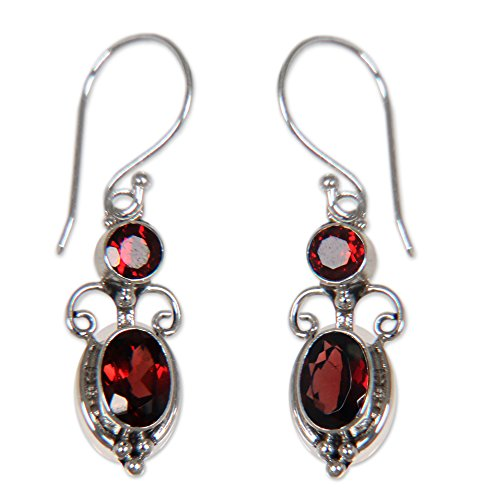 novica-garnet-and-925-sterling-silver-dangle-earrings-crown-princess-25-cttw