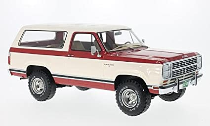 Amazon Com Dodge Ramcharger Red White 1979 Model Car Bos