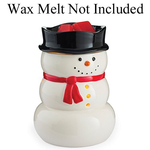 Candle Warmers Etc. Illumination Fragrance Warmer, (Snowman Wax)