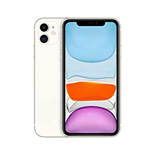 Simple Mobile Prepaid - Apple Iphone 11 (64GB) - White [Locked to Carrier – Simple Mobile]