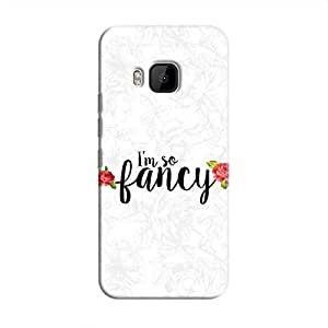 Cover It Up I m So Fancy Flower Hard Case For HTC M9