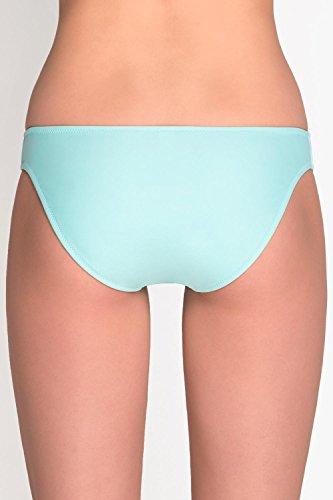 Vivisence 3212 Braguita De Bikini Lisa Clásica De Cintura Regular Para Mujeres - Hecha En La UE menta