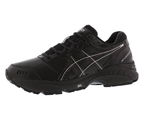 Price comparison product image ASICS Women's Gel Foundation 3 2E Walking Shoe, Black / Onyx / Silver, 10 2E US