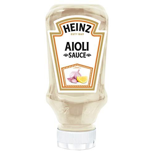 Heinz- Alioli Saus- Om de beste gerechten op smaak te brengen- 220g