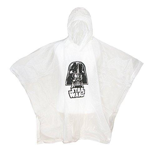 Star Wars Darth Vader Hooded Rain Poncho Youth (Youth)