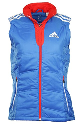 red Vest Womens Adidas Padded Pl W Blue Jacket cXzyqCP