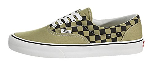 Vans Men's Era (2 Tone Checker) Skateboarding Shoes (13 D(M) US, Boa/Black)