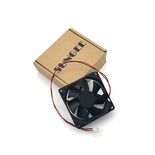 D80SH-12C 12V 0.21A 8020 8CM 2 wire power supply cabinet cooling fan by Sungee (Image #6)