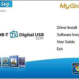Amazon Tvチューナー Sdb Full Seg Hd 电视 Mygica S270 地上デジタルチューナー Usbチューナーレシーバーテレビスティック360度ダブル伸縮アンテナ Mygica Tvチューナー キャプチャーボード 通販