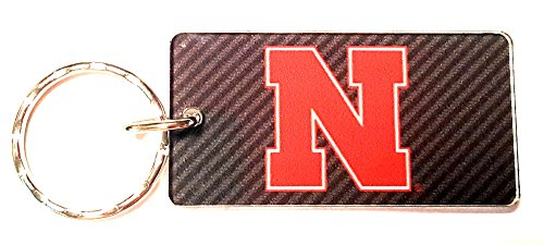 WinCraft Nebraska, University of S71157 Keychain Rectangle ()