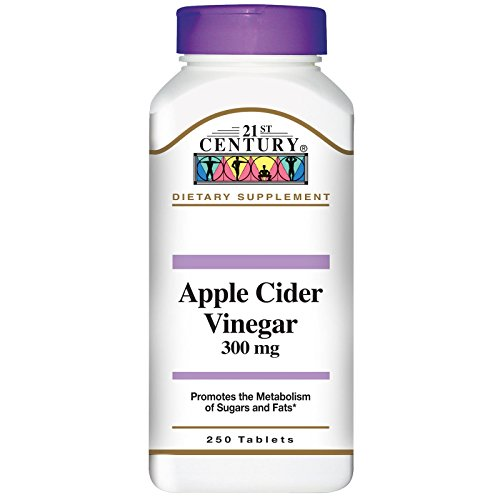 21st Century, Apple Cider Vinegar, 300 mg, 250 Tablets - 2pc