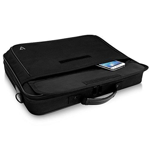 V7Transportmappe Essential Laptop 16Zoll–Taschen von Laptops (Koffer, 40,9cm (16.1), Gurt Schulter, 702G, schwarz)