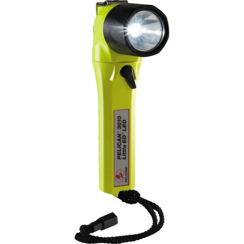 Pelican 3610 Little ED Recoil LED Flashlight (Yellow)