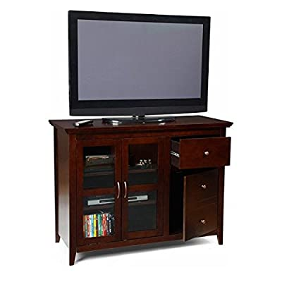 Convenience Concepts Sierra Highboy TV Stand for Flat Panel TVs