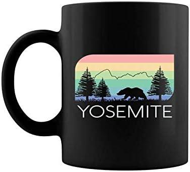 Yosemite National Park Vintage Retro Half Dome El Capitan Coffee Mug 11 15 Oz Kitchen Dining