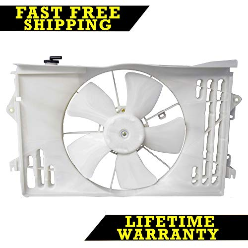 (RADIATOR CONDENSER COOLING FAN FOR PONTIAC TOYOTA FITS COROLLA 1.8 TO3115125)