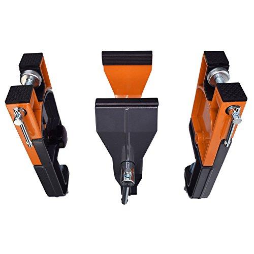 RaceWax World Cup Ski Vise All Metal Three Piece 90 mm