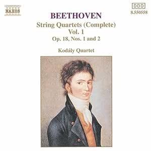 Beethoven: String Quartets (Complete) Vol. 1