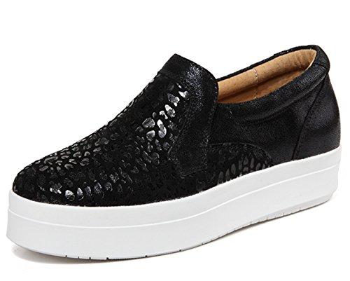 Montante Recommandez Sneakers Taille 35 42 L'intérieur 2 Cuir Femme ZOPuXkTi