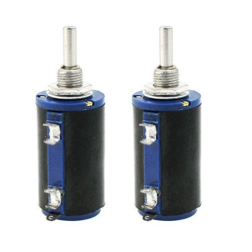 Uxcell a13061400ux0399 WXD3-13 2W 10K ohm Multi Turn Wirewound Potentiometers Pot 2 Piece