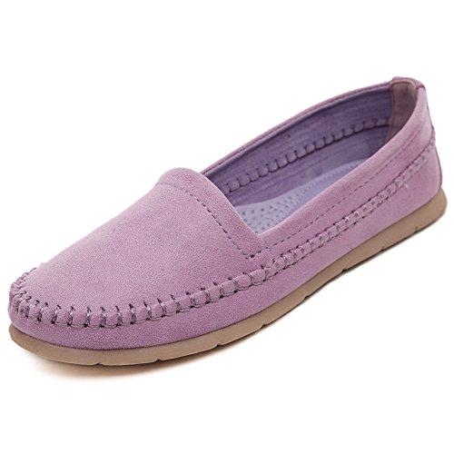 Eu Beige Violet 39 Chaussures couleur Taille Qiusa xgRw48qnZ8