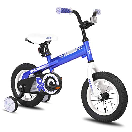 JOYSTAR 14 Inch Kids Bike with Training Wheels for 3 4 5 Years Old Boys, Toddler Cycle for Early Rider, Child Pedal Bike, Blue