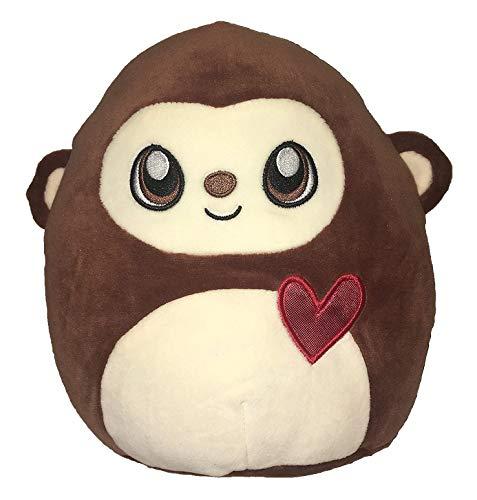 Squishmallow Kellytoy 8 Inch Monkey Super Soft Plush Toy Pillow Pet ()