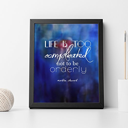 Martha Stewart Quote Inspirational Quote Wall Art Print Home Decor