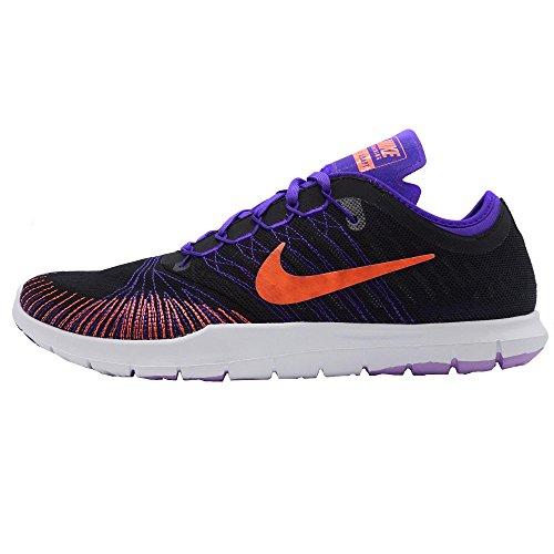 Nike 831579-005, Zapatillas de Deporte para Mujer Negro (Black / Bright Mango / Fierce Purple)