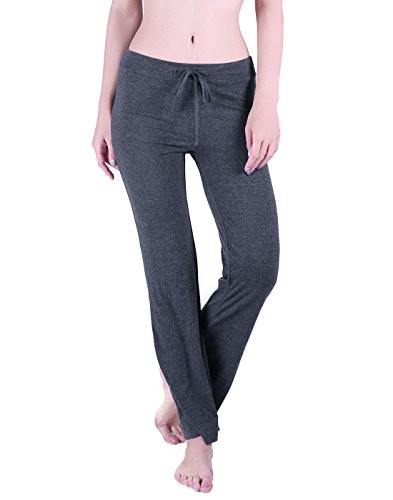 - HDE Womens Yoga Pants Drawstring Pajama Bottoms Stretchy Lounge Workout Leggings
