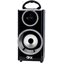 QFX Multimedia Seaker with RM Radio-Silver Consumer Electronics