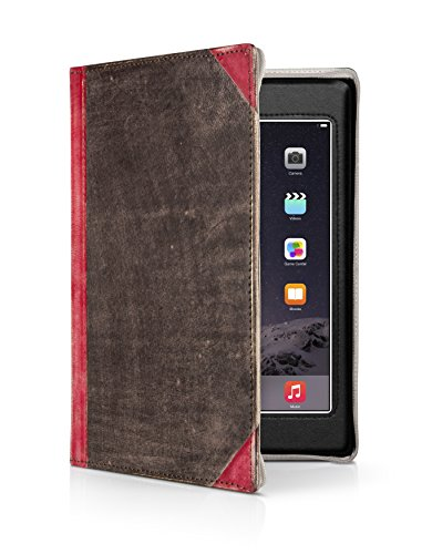 Price comparison product image Twelve South BookBook for iPad, red | Vintage leather book case for iPad (2nd, 3rd, and 4th gen.)