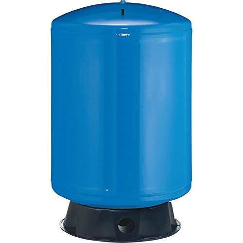 Flotec Vertical Pre-Charged Water System Tank - 85-Gallon Capacity, Equivalent to a 220-Gallon Capacity Tank, Model# FP7130