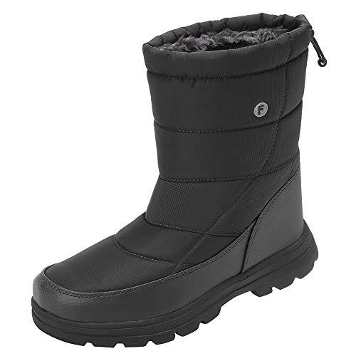 EQUICK Women and Men Waterproof Snow Boot Draws...
