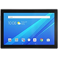 Lenovo Tab 4, 10.1' Android Tablet, Quad-Core Processor, 1.4GHz, 16GB Storage, Slate Black, ZA2J0007US