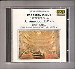 Rhapsody in Blue an American in Paris, Cincinnati Symphony Orchestra