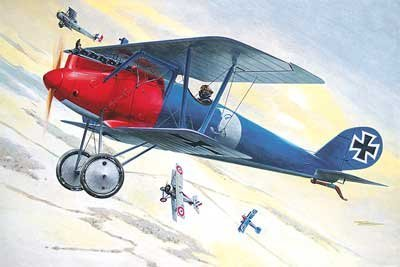 Roden 1:32 Pfalz D.III German WWI Fighter Plastic Aircraft Model Kit #613 by Roden