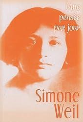 Simone Weil : Une pensée par jour
