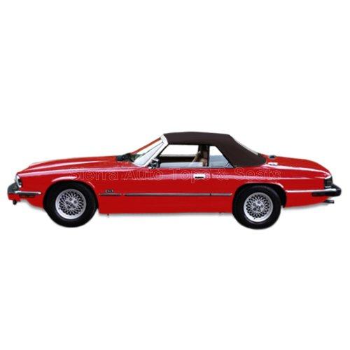 Jaguar XJS Convertible Top 89-96 in Brown Twillfast II w/o Window