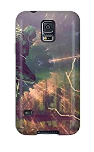 Perfect Alex Mercer & Cole Mcgrath Prototype Infamous Video Game Other Case Cover Skin For Galaxy S5 Phone Case