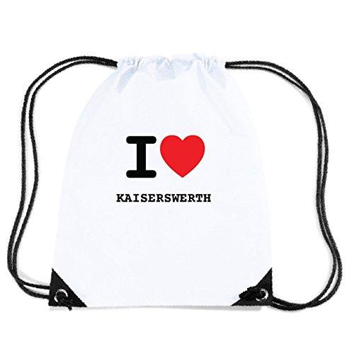 JOllify KAISERSWERTH Turnbeutel Tasche GYM415 Design: I love - Ich liebe