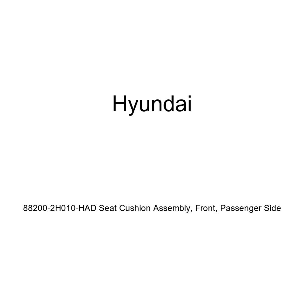 Genuine Hyundai 88200-2H010-HAD Seat Cushion Assembly Front Passenger Side
