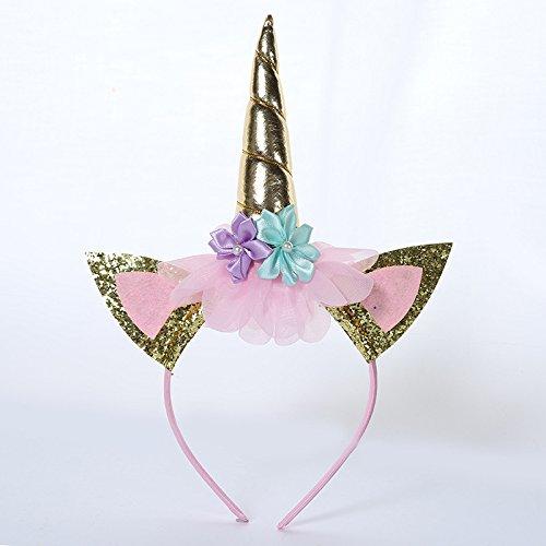 wuudi bambini Unicorn fascia party Beatuiful capelli fermaglio Fashion Princess Unicorn decorazione dei capelli