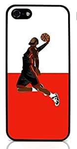 Basketball SportHard Case for Apple iPhone 5/5S ( Sugar Skull )