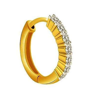 Buy Jj Jewellers 18k 750 Gold Nose Rings For Women Stylish Saniya