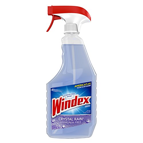 Windex 70208 Crystal Rain Glass Cleaner, Rainshower Scent, 2