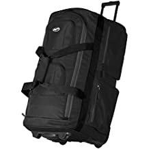 "Olympia  29"" Pocket  Rolling Duffel Bag"